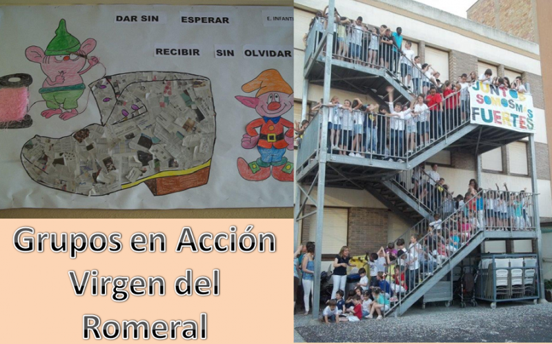 Virgen del Romeral-Grupos en Acción