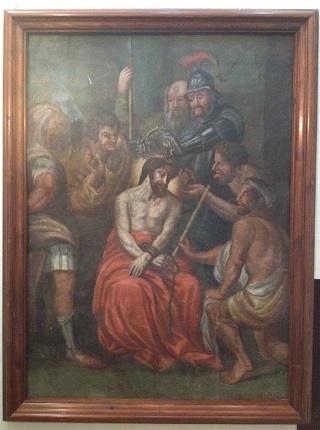 Pintura mural_La coronación de espinas